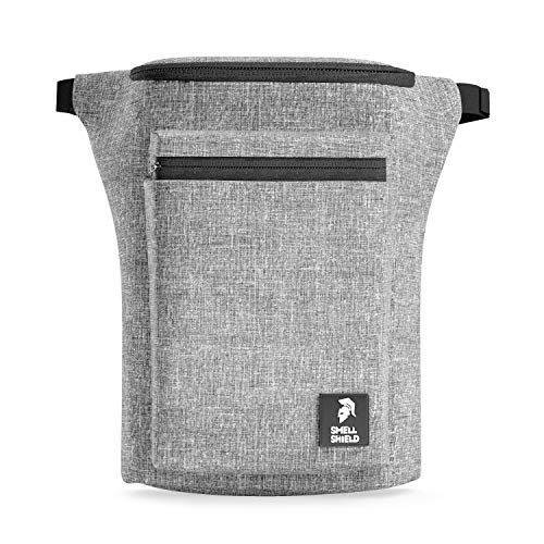 Smell Proof Fanny Pack – Storage for Bags Containers Keeps Stash Smell Proof & Safe (Gray)