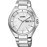 [シチズン]CITIZEN 腕時計 ATTESA アテッサ Eco-Drive エコ・ドライブ 電波時計 デイデイト表示 AT6050-54A メンズ