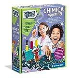Clementoni- Ciencia Lab Mistery, Laboratorio de química, Juego científico (versión en Italiano), niños 8 años +, Fabricado en Italia, Multicolor (19217)