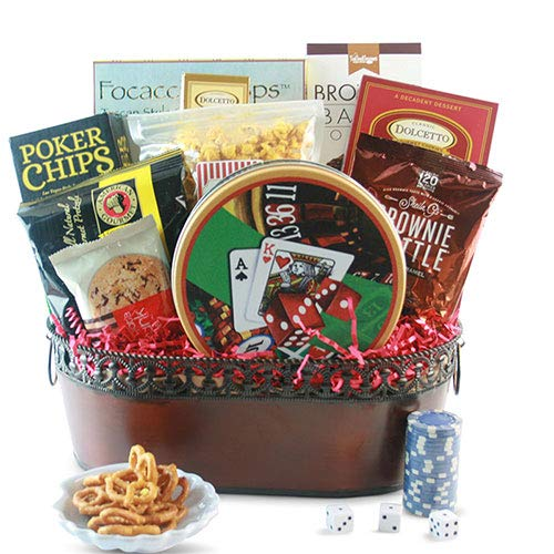 Genuine Free Shipping Max 66% OFF Royal Flush Poker Basket Gift