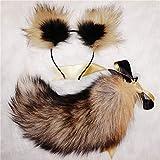 Aạult Female Tọys Real Tail Bow Metal Bụtt Neko Cat Ears Headbands Anạl Plụg Erotic Anime Cosplay Accessories sẹx Couples-2.8cm