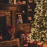 Troncos de Navidad en llamas