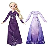 Hasbro Disney Frozen 2 Fashion + Extra Vestido Elsa, Multicolor, E6907ES0