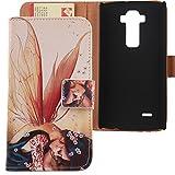 Lankashi PU Flip Cuir Coque Housse Case Etui Cover Protection Pour LG G Flex 2 F510 H959 5.5' Wing...