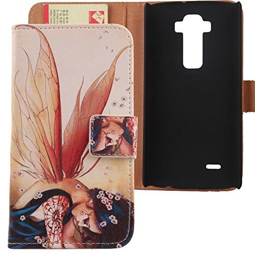Lankashi PU Flip Leder Tasche Hülle Hülle Cover Schutz Handy Etui Skin Für LG G Flex 2 F510 H959 5.5