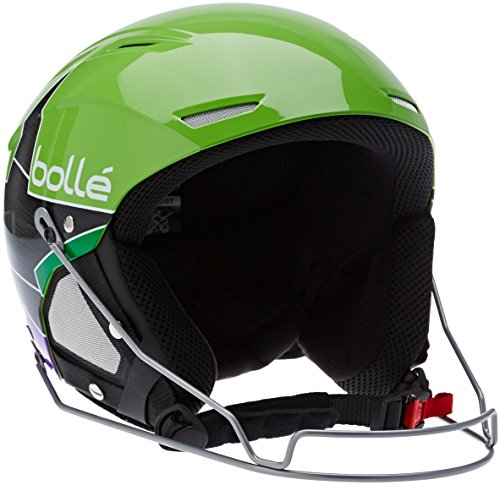 bollé Skihelm Backline Shiny Green Star, 59-61 cm, 30951