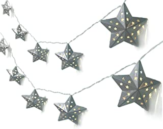 ACRAFT Twinkle Star String Lights Plug in Fairy Lights for Bedroom with End-to-end Connector Decorative Lighting for Teen Girl Boy Tee Pee