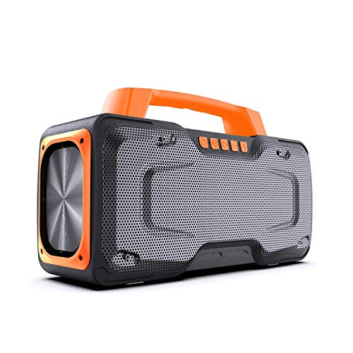 Bluetooth Speakers BUGANI M118 Portable Bluetooth Speakers 50W Super Power Fast Charging Outdoor Bluetooth Speaker for Parties Singing and Travel Orange …