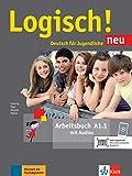 Logisch! neu a1.1, libro de ejercicios con audio online: Arbeitsbuch A1.1 mit Audios zum Download