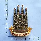 HUAYING España Refrigerador Imanes Turístico Souvenir Córdoba Barcelona Mallorca Sevilla Cantabria Viajes Regalos Magnéticos Pegatinas Nevera