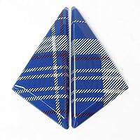 2本ドアウィンドウコーナーAピラーデコレーションステッカートリムシェルカバーミニクーパーS JCWワンF54 F55 F56 F57 F60カーアクセサリー カー外装 (Color : 青い, サイズ : F57)
