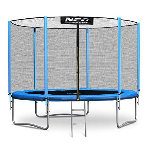 Neo-Sport Cama elástica de 305 cm con red de seguridad para jardín