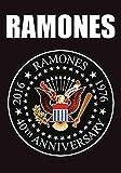 Ramones Posterfahne Seal 40th Anniversary Fahne Poster