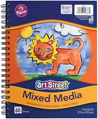 Pacon Art Street Mixed Media Journal Heavyweight 11 x 8 1 2 60 Sheets product image