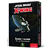 Fantasy Flight Games- SW X-Wing 2.0 - Escoria y Villanos: Kit de...