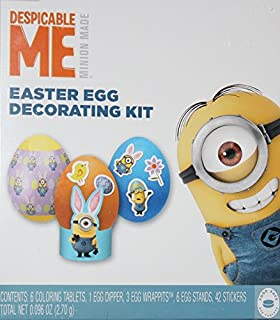 Paper Magic Dudley Easter Minions Egg Design Egg Dyeing Kit
