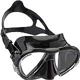 cressi Matrix Tauchen Schnorcheln Maske, Schwarz, Einheitsgröße