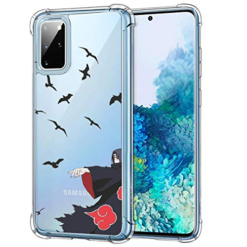 FUTURECASE Anime Shockproof Transparent Anti-Fall Case for Samsung Galaxy S8 S9 S10 S20 S21 Plus Ultra FE S10e TPU Phone Cover(3, Samsung S21)
