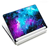 Laptop Skin Vinyl Sticker Decal, 12' 13' 13.3' 14' 15' 15.4' 15.6 inch Laptop Skin Sticker Cover Art Decal Protector Fits HP Dell Lenovo Compaq Apple Asus Acer (Galaxy)