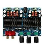 ARCELI TPA3116 2x50W + 100W 2.1 Amplificador de Potencia de Canal Doble Canal Amplificador de Potencia subwoofer Digital DC 12V-26V