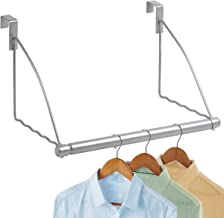 Hold N Storage Over the Door Closet Valet- Over the Door Clothes Organizer Rack and Door Hanger for Clothing or Towel, Hom...