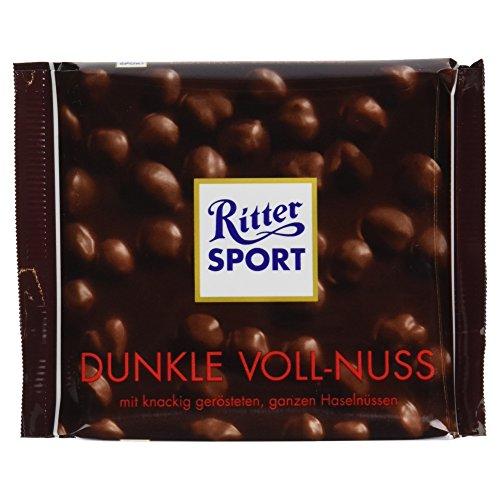 Ritter Sport Dunkle Voll-Nuss, 100 g