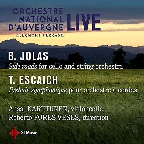 Anssi Karttunen, Roberto Forés Veses, Orchestre national d'Auvergne Clermont-Ferrand
