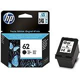 HP 62 Schwarz Original Druckerpatrone für HP ENVY, HP Officejet