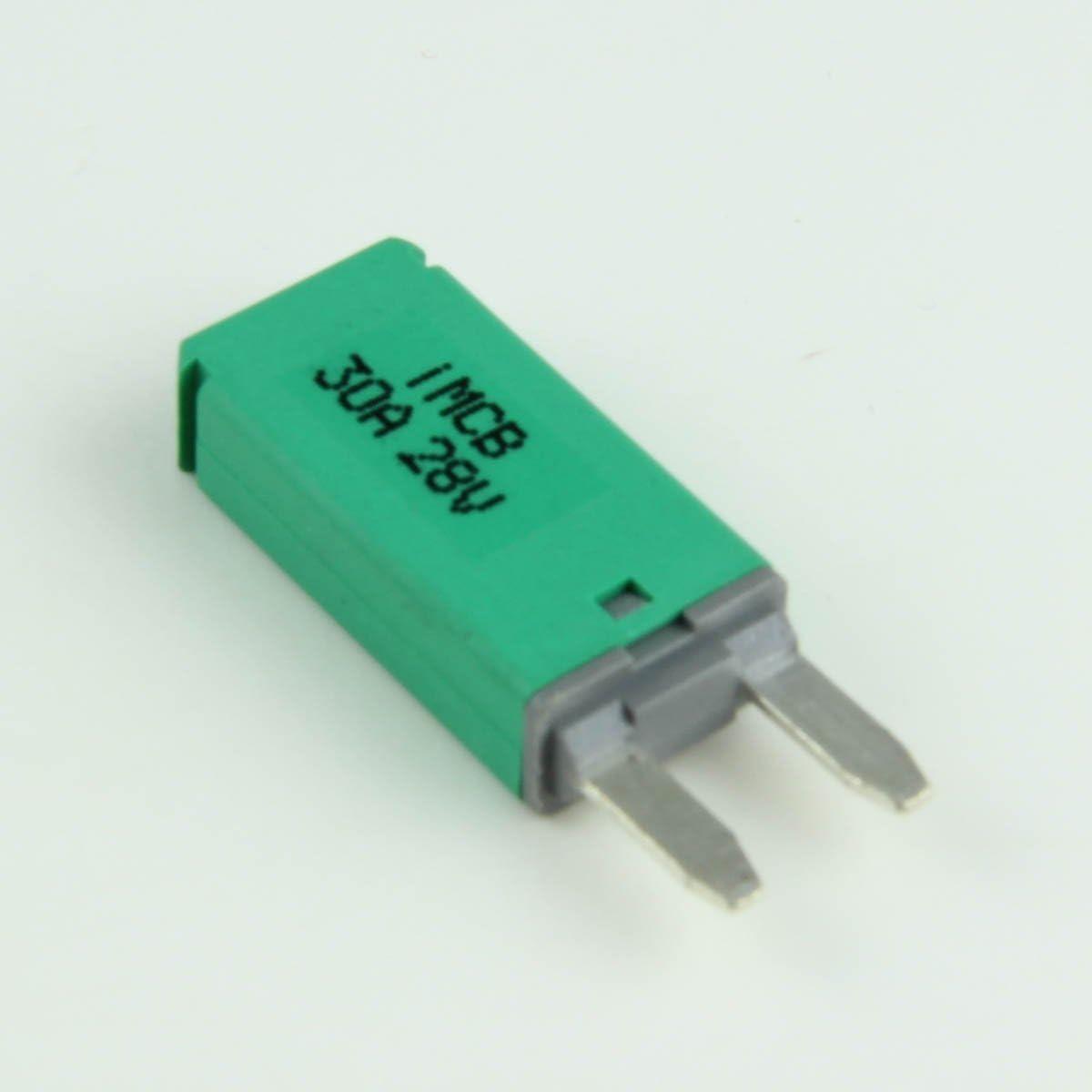 30 Max 41% OFF Amp Manual-Reset Mini wholesale ATM Breakers 1 Blade-Style Circuit per