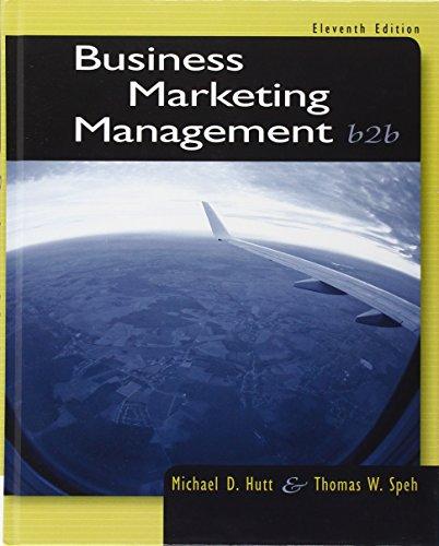 Download Business Marketing Management: B2B 1133189563