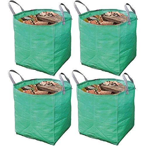 Spares2go Tung förvarings- och återvinningspåse (120 liter, paket med 4)