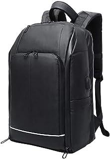 Dengyujiaasj Backpack, Usb Travel Bag Big Capacity Shoulder Bag Man Leisure Fashion Business Computer Backpack Raincoat Ba...