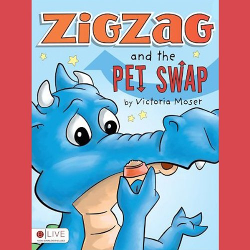 Zigzag and the Pet Swap audiobook cover art