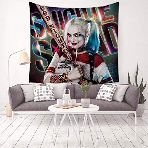 51Re-mjumNL Harley Quinn  Curtains