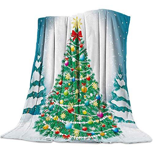 Manta Suave, árbol Navidad Lleno Regalos