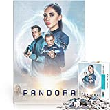 YLAXX Póster del Programa de televisión Pandora Teenager Puzzle 1000 Piezas Juego de ensamblaje de Bloques Regalo de Juguete de Bricolaje 38x26cm