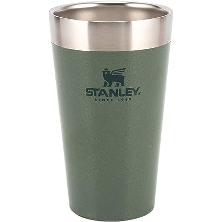 [ スタンレー ] Stanley スタッキング真空パイント 0.47L タンブラー ハンマートーングリーン Hammertone Green 10-02282-137 Adventure Stacking Beer Pint 16 OZ / .47L ステンレス 保冷 保温 [並行輸入品]