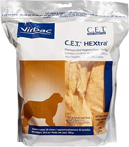 Virbac C.E.T. HEXtra Premium Oral Hygiene Chews