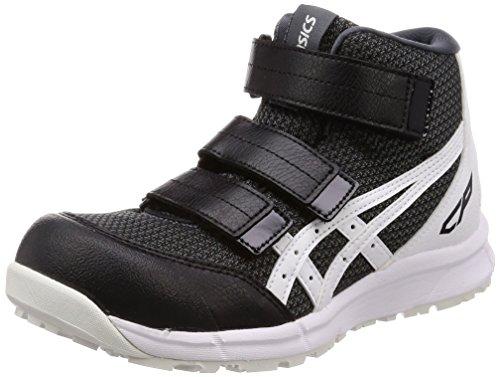 [アシックス] ワーキング 安全靴/作業靴 ウィンジョブ CP203 JSAA A種先芯 耐滑ソール αGEL搭載 ファントム/ホワイト 26.0 cm
