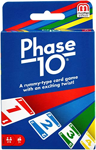 Phase 10 Card Game with 108 Cards Makes a Great Gift for Kids Family or Adult Game Night Ages 7 Years and Older