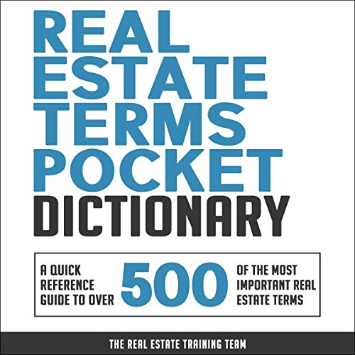 Real Estate Terms Pocket Dictionary  By  cover art