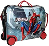 Spiderman City Bagage enfant, 50 cm, 34 liters, Multicolore (Multicolor)