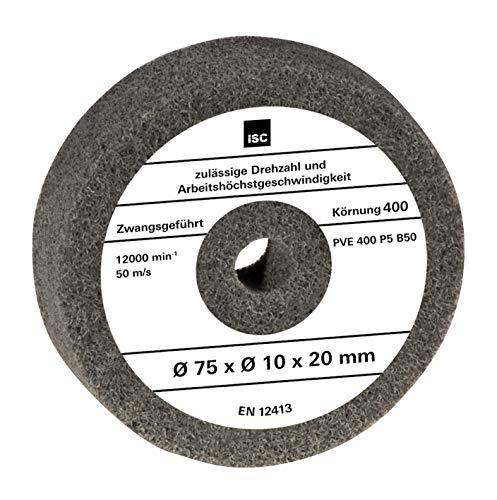 Original Einhell Polierscheibe (passend für Doppelschleifer TH-XG 75, 75x10x20 mm)