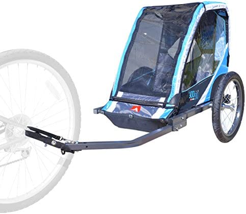 Allen Sports 1 Child Steel Bicycle Trailer Blue product image