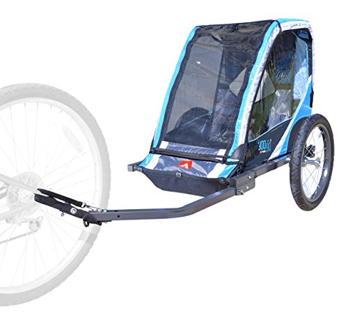 Best Price! Allen Sports 1-Child Steel Bicycle Trailer- Blue, Model T1-B