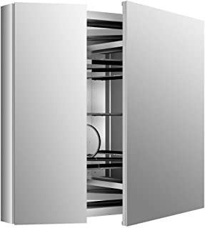 KOHLER K-99009-NA Verdera 34-Inch By 30-Inch Slow-Close Medicine Cabinet With Magnifying Mirror