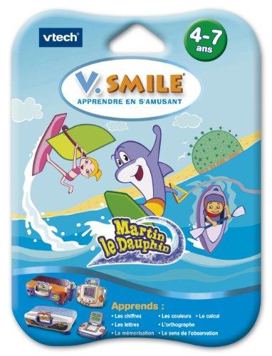 VTech - 80-084285 - Cartouche de jeu V.Smile (Motion) Martin Le Dauphin