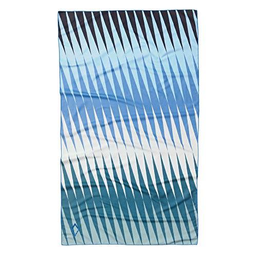 Nomadix Toalla de viaje ultraligera (Heatwave azul verde)