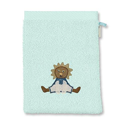 STERNTALER Gant de Toilette Aqua Motif Leo Le Lion