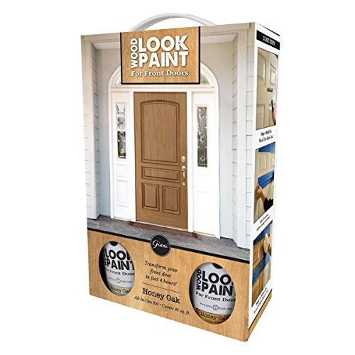 Giani Wood Look Paint Kit for Front & Interior Doors (Honey Oak)